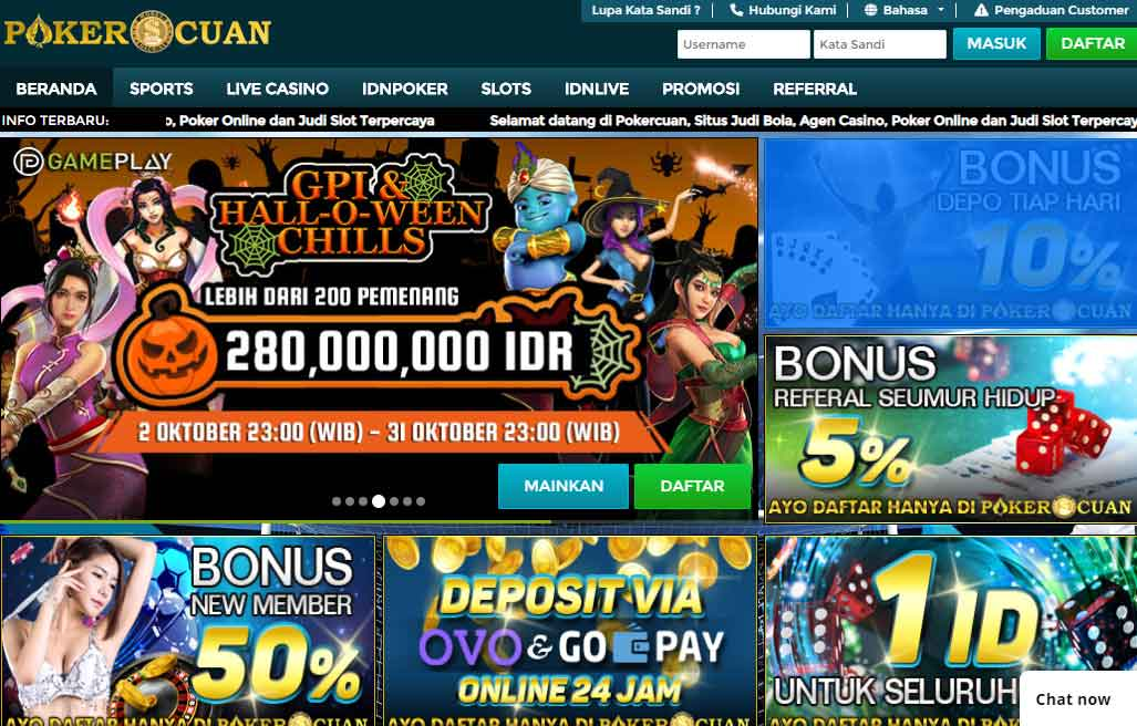 homepage pokercuan